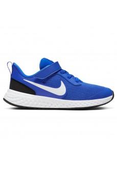 Zapatillas Niño/a Nike Revolution 5 Azul/Blanco/Negro BQ5672-401 | scorer.es