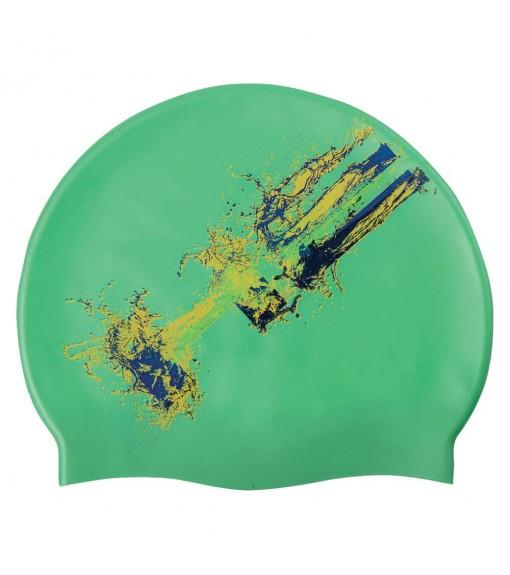 Head Cap Flag Suede Green 455255-BRA | Swimming caps | scorer.es
