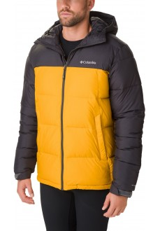 Abrigo Hombre Columbia Pike Lake Hooded Gris/Amarillo 1738032-705