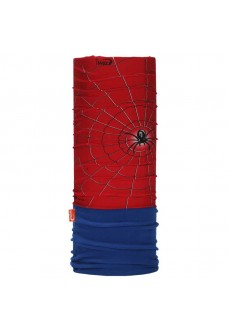 Wind Neck Gaiter Jr Spider Navy Blue/Red 2083
