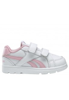 Reebok Girl's Trainers Royal Prime Alt White/Pink DV9304