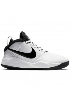 Zapatillas Niño/a Nike Team Hustle D 9 (GS) Blanco/Negro AQ4224-100