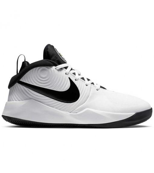 Nike Kids' Trainers Team Hustle D 9 (GS) White/Black AQ4224-100   Basketball shoes   scorer.es