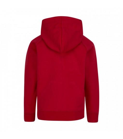 Nike Kids' Sweatshirt Jordan Jumpman Fleece Full Red 856476-R78   Basketball clothing   scorer.es
