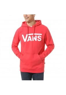 Vans Men's Sweatshirt Classic PO Hibiscus Red VN0A456B0HI1