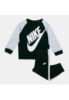 Chandal Infantil Nike Oversized Futura Crew Negro/Blanco 86F563-023 | scorer.es