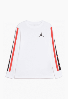 Camiseta Niño/a Nike Jordan Aj85 HBR Ls Tee Blanco 956612-001