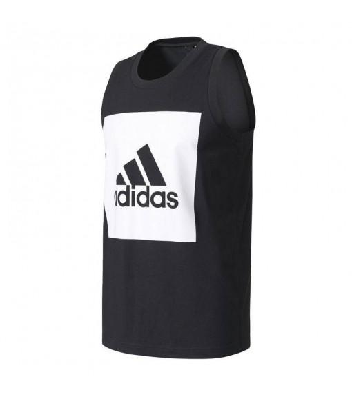 Camiseta sin mangas Adidas Negro/Blanco | scorer.es