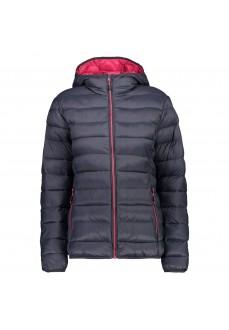 Campagnolo Women's Coat Fix Hood Gray 38Z256 01UD