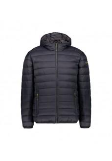 Campagnolo Men's Coat Fix Hood Gray 39Z2537-U423