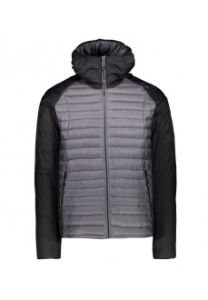 Campagnolo Men's Coat Fix Hood Black/Gray 39Z0457 U887 | Jackets/Coats | scorer.es