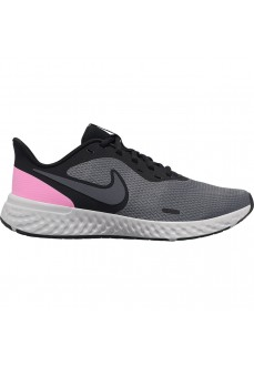 Zapatillas Mujer Nike Revolution 5 Negro/Rosa BQ3207-004