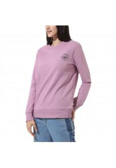 Vans Women's Sweatshirt Attendance Crew Valerian Pink VN0A47TDZUS1 | Sweatshirt/Jacket | scorer.es