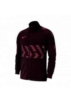Nike Men's Sweatshirt Dry Strike Trk Jkt Maroon AT5901-659
