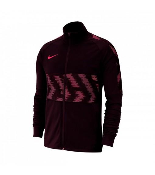 Sudadera Hombre Nike Dry Strike Trk Jkt Granate AT5901-659 | scorer.es