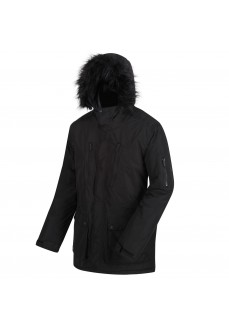 Regatta Men's Jacket Salinger Black RMP235-826 | Jackets/Coats | scorer.es
