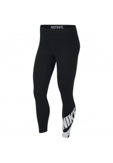 Leggings 7/8 Nike Mujer JSportswear Leg-A-See Negro/Blanco AR3507-010
