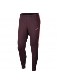 Pantalón de fútbol Hombre Nike Dri-FIT Academy Granate AJ9729-659
