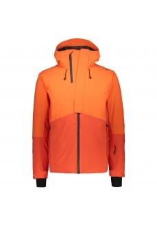 Campagnolo Men's Jacket Mid Jacket Fix Hood Orange 39W1527 C783