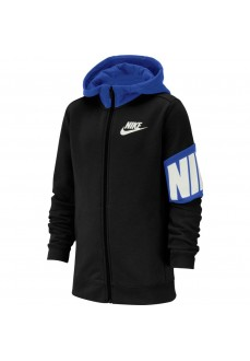 Sudadera Niño/a Nike Core Amplify Fz Hoodie Negro/Azul BV3649-010