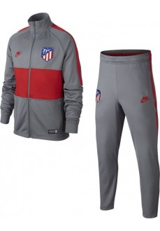 Nike Kids' Atlético de Madrid Tracksuit Strike 2019/2020 Gray/Red AO6747-060
