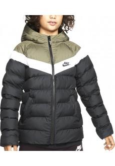 Chaqueta Niño Nike Sportswear Negro/Blanco/Verde 939554-015