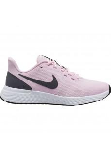 Zapatillas Niño/a Nike Revolution 5 (GS) Rosa/Gris BQ5671-601 | scorer.es