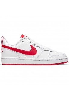 Zapatillas Niño/a Nike Court Borough Low 2 Blanco/Rojo BQ5448-103 | scorer.es