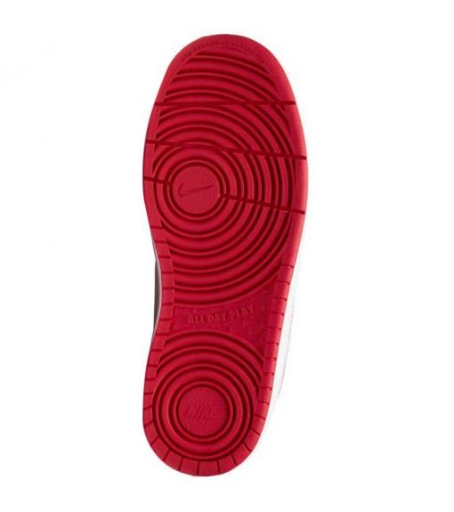 Zapatillas Niño/a Nike Court Borough Low 2 Blanco/Rojo BQ5448-103 | scorer.es