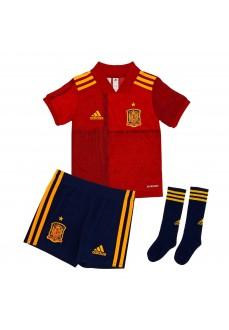 Minikit Niño/a Adidas 1ª Equipación España 2019/2020 Rojo/Azul FI6252 | scorer.es