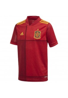 Adidas Kids' Home Shirt Spain National Team Red FI6237