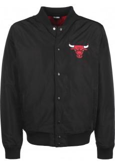Chaqueta Hombre New Era NBA Chicago Bulls Negro 12123895 | scorer.es