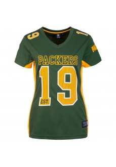 Camiseta Mujer Majestic Packers Verde/Amarillo MGB6102GJ