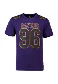 Camiseta Hombre Majestic Ravens Morado MBF2705PJ | scorer.es
