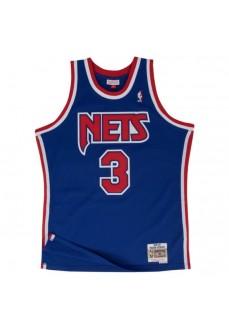 Mitchell & Ness Men's T-Shirt Nets Blue SMJYGS18183-NJNROYA92DPE