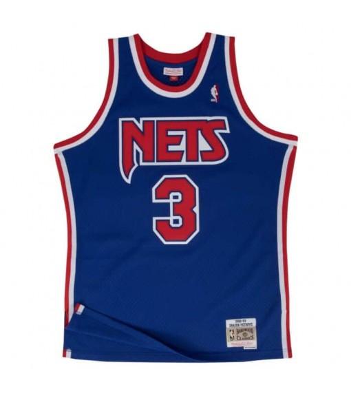 Camiseta Hombre Mitchell & Ness Nets Azul SMJYGS18183-NJNROYA92DPE | scorer.es