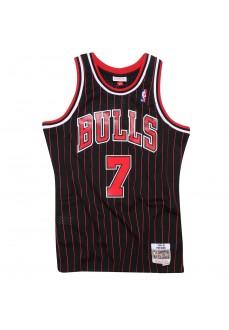 Camiseta Hombre Mitchell & Ness Tony Kukoc Negro/Rojo BA81MB-CBU-K-JI2 | scorer.es