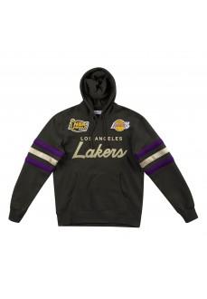 Sudadera Hombre Mitchell & Ness Los Angeles Lakers Negro FPHDDA18016-LALBLCK