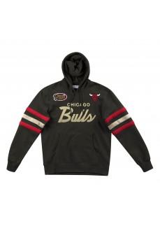 Mitchell & Ness Men's Sweatshirt Chicago Bulls Black FPHDDA18016-CBUBLCK