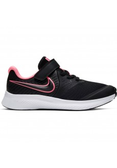 Nike Girl's Trainers Star Runner 2 (PSV) Black/Fuchsia AT1801-002