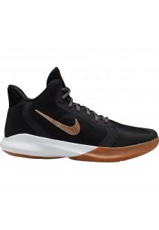 Zapatillas Hombre Nike Precision III Negro/Marron AQ7495-006