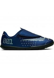 Nike Kids' Trainers Jr. Mercurial Vapor 13 Club MDS IC Navy Blue CJ1176-401