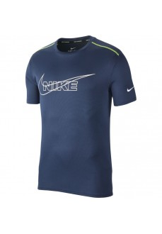 Camiseta Hombre Nike Breathe Run Top Marino BV4645-451