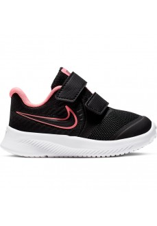 Zapatillas Niña Nike Star Runner 2 (TDV) Negro/Rosa AT1803-002