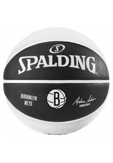 Balón Spalding NBA Team Brooklyn Nets Negro/Gris 83-588Z
