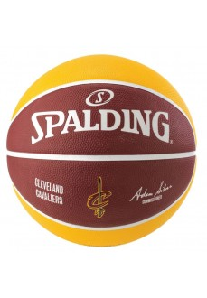 Spalding NBA Ball Team Cleveland Cavs Yellow/Maroon 83-504Z