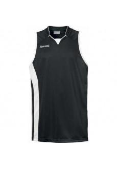 Camiseta Hombre Spalding Tank Top Negro/Blanco 300211303