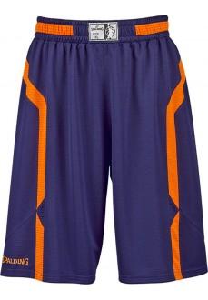 Pantalón Corto Hombre Spalding Offense Shorts Marino/Naranja 300513005 | scorer.es