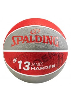 Balón Spalding NBA Team James Harden Gris/Rojo 83-347Z
