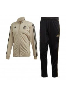 Chándal Hombre Adidas Real Madrid 2019/2020 Beige/Negro EI7470